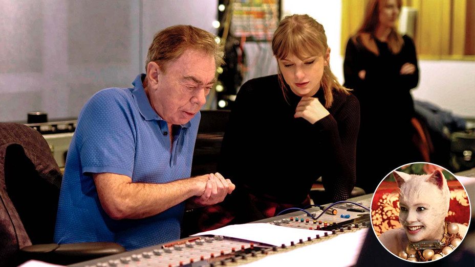 Andrew Lloyd Webber and Taylor Swift - Cats - Publicity Still  - Inset - H 2019