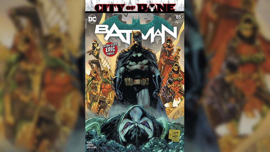 Batman City of Bane Cover - Publicity - H 2019