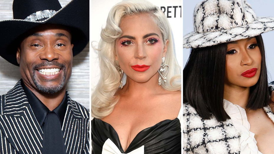 Billy Porter-Cardi B-Lady Gaga- Year End -Split-Getty-H 2019
