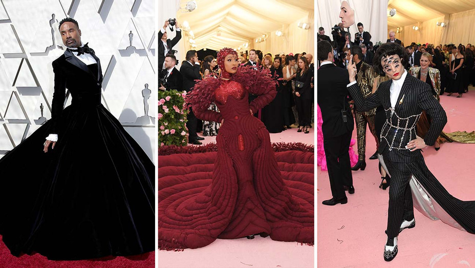 Billy Porter_Cardi B_Ezra Miller_Split - Getty - H 2019