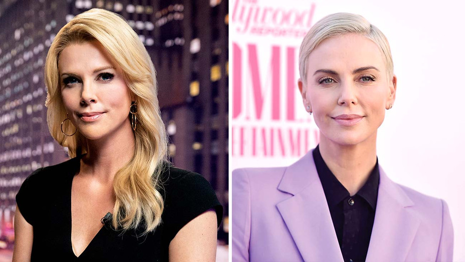 How Bombshell S Makeup And Hair Pros Transformed Charlize Theron Into Megyn Kelly Hollywood Reporter
