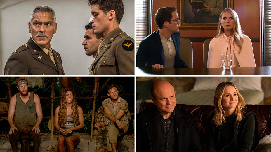 Catch-22, The Politician, Survivor and Veronica Mars -Split-H 2019