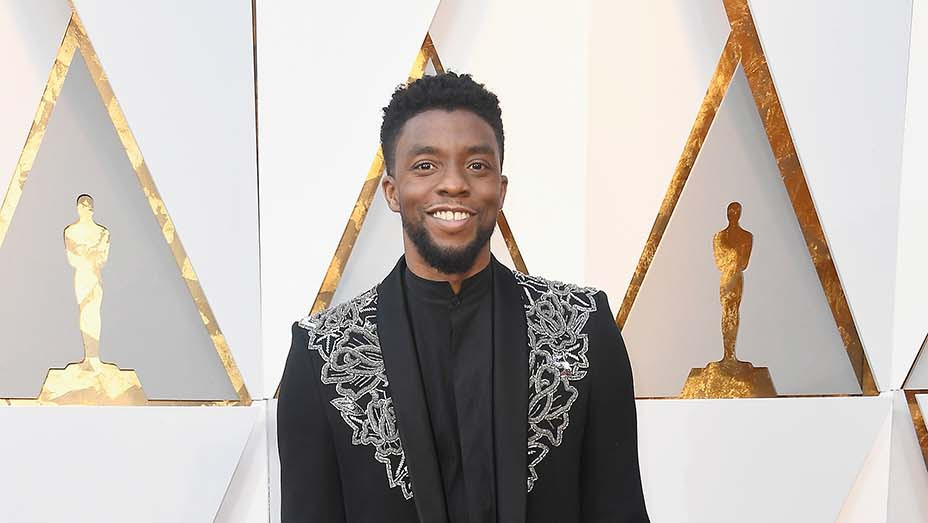 Chadwick Boseman - Oscars 2018 - Getty - Embed 2019