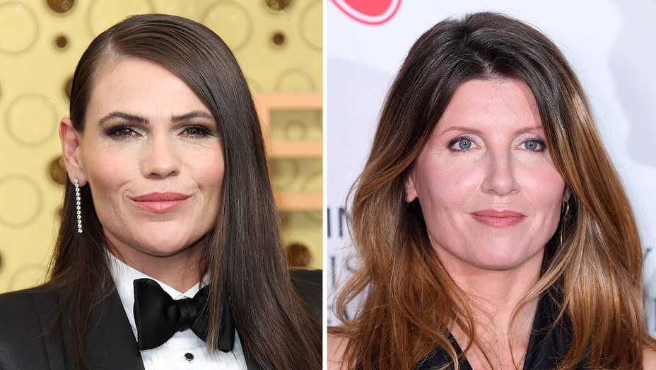 Clea DuVall and Sharon Horgan - Getty - Split - H 2019