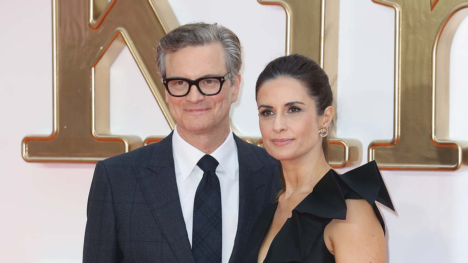 Colin Firth and Wife Livia — Getty — H 2019