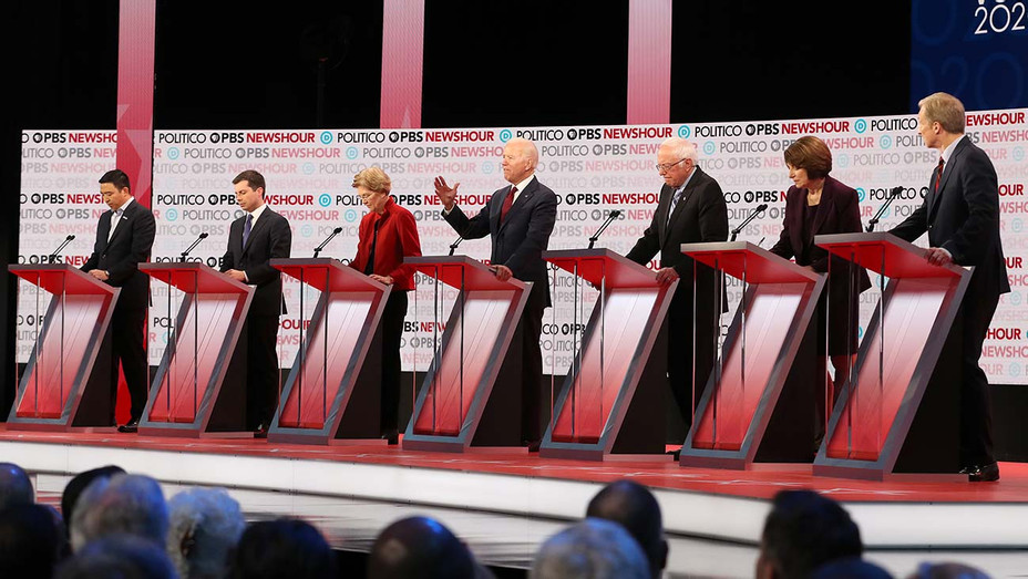 Democratic presidential debate candidates_1 - Getty - H 2019