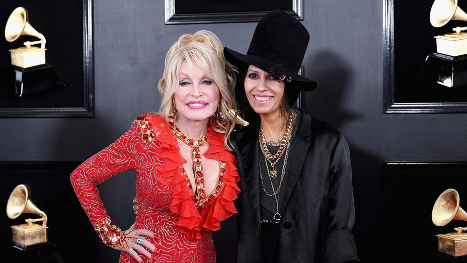 Dolly Parton and Linda Perry - Getty - H 2019