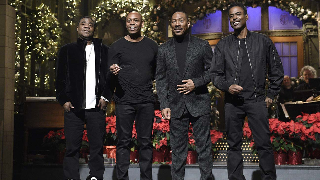 Bill Cosby S Publicist Calls Eddie Murphy A Hollywood Slave After Snl Jab Hollywood Reporter
