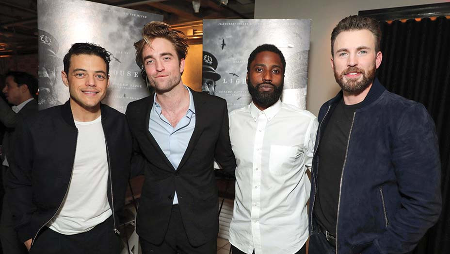 Famous Helping Hands - Rami Malek, The Lighthouse's Robert Pattinson, John David Washington and Chris Evans- Publicity - Embed -2019