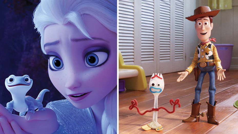 Frozen 2 - Toy Story 4 - Publicity Stills - Split - H 2019