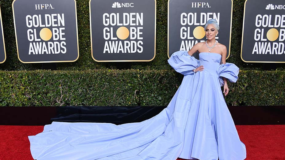 Lady Gaga attends the 76th Annual Golden Globe Awards - EMBED 2019