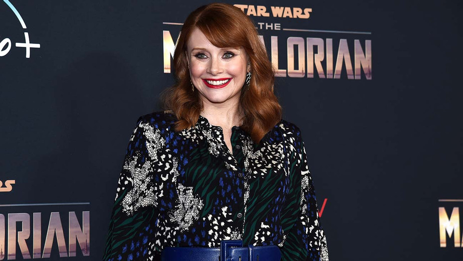 Bryce Dallas Howard arrives at the premiere of Disney+'s The Mandalorian - Getty-H 2019