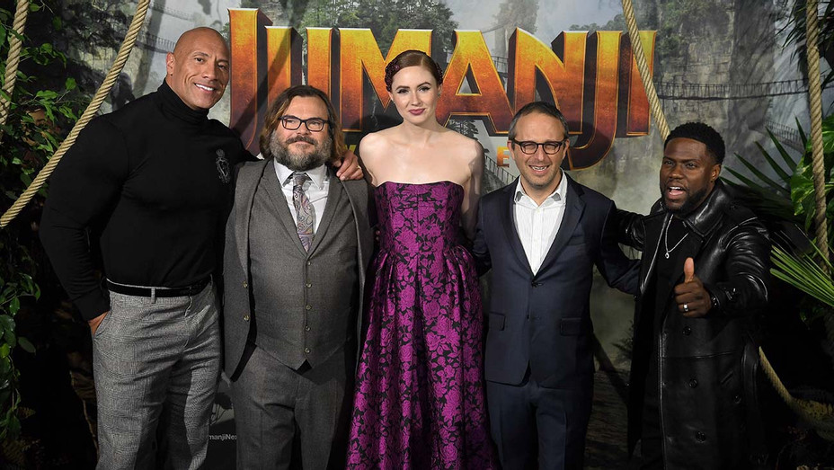 "Jumanji Next Level"" photocall Paris - December 03, 2019 - Getty-H 2019"