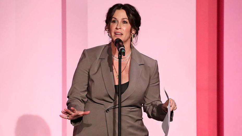 Alanis Morissette at Billboard Women In Music 2019 — Getty — H 2019