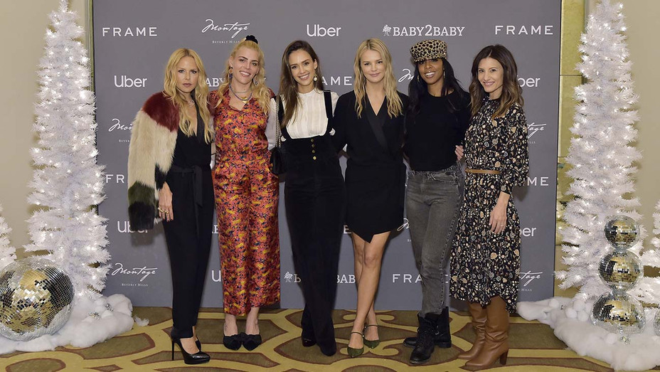 The Baby2Baby Holiday Party - Busy Philipps, Jessica Alba, Kelly Sawyer Patricof, Kelly Rowland and Norah Weinstein -Getty-H 2019