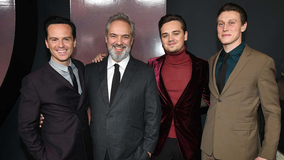 Premiere of 1917 - Andrew Scott-Sam Mendes - Dean Charles Chapman and George MacKay - Getty-H 2019