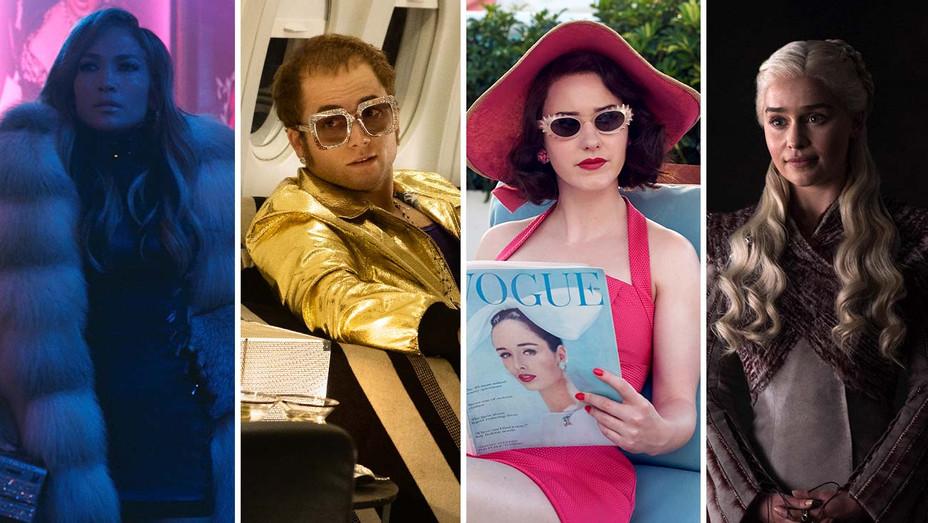 Hustlers (J.Lo), Rocketman, Maisel, Game of Thrones - Publicity Stills - Split - H 2019