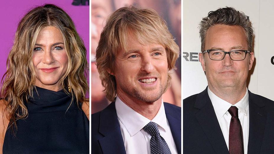 Jennifer Aniston Owen Wilson Matthew Perry Split - Getty - H 2019
