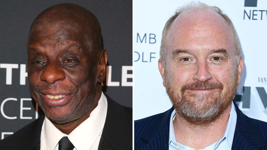 Jimmie Walker and Louis C.K. _Split - Getty - H 2019