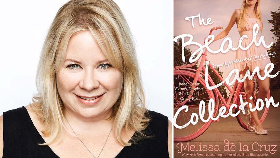 Julie Plec - Melissa de la Cruz's book Beach Lane book cover - Publicity - Split - H 2019