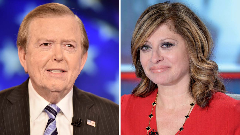 Lou Dobbs and Maria Bartiromo - Split- Getty-H 2019