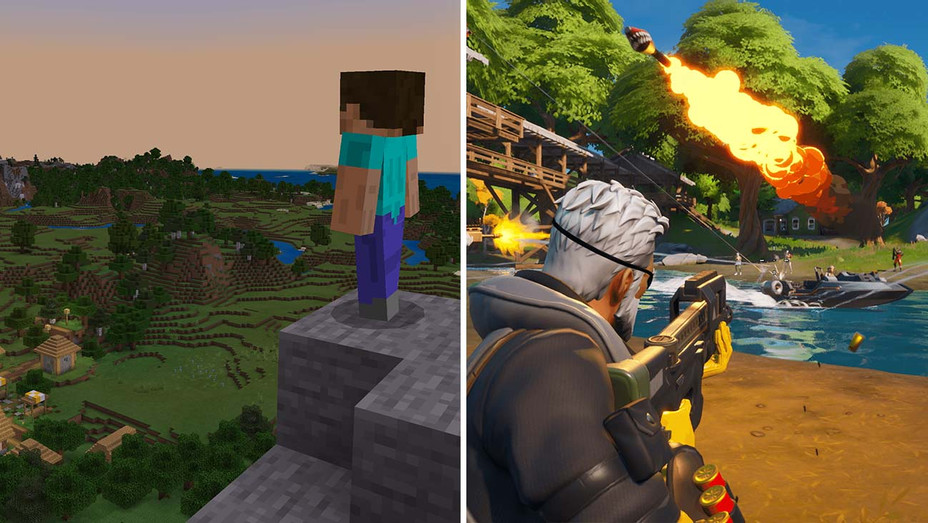 Minecraft_Fortnite_Split - Publicity - H 2019