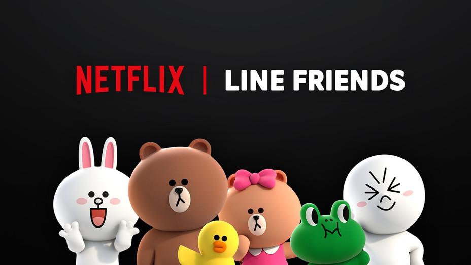 Netflix 'Line Friends' - Publicity - H 2019