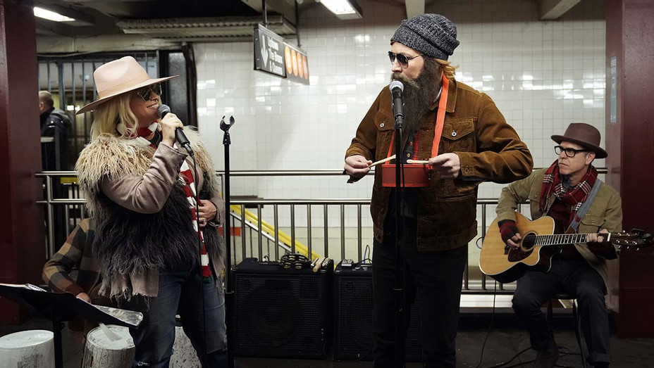 THE TONIGHT SHOW STARRING JIMMY FALLON - Alanis Morissette and host Jimmy Fallon -Subway Busking- Publicity-H 2019