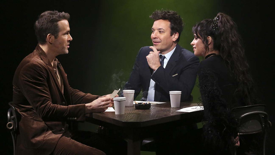 THE TONIGHT SHOW STARRING JIMMY FALLON - Episode 1175 -Ryan Reynolds -Jimmy Fallon, and singer Camila Cabello - Publicity-h 2019