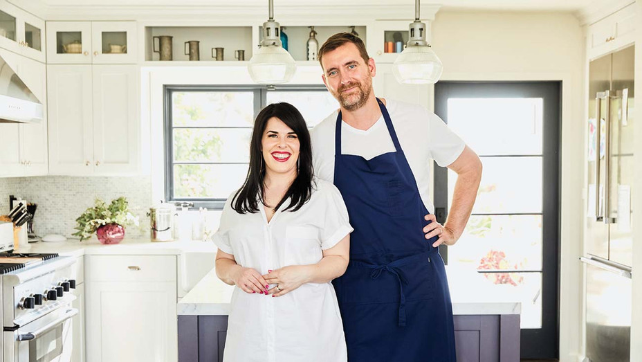 Producer Alexis Martin Woodall with husband-chef Dave Woodall - Publicity - H 2019
