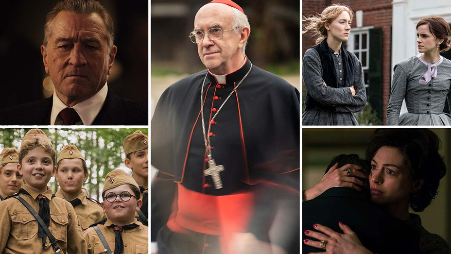 Dark Waters, The Irishman, Jojo Rabbit, Little Women and The Two Popes -Split 2- Publicity-H 2019
