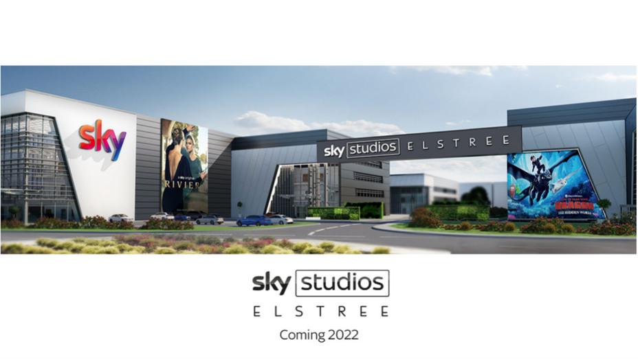 Sky Studios Elstree rendering - H 2019