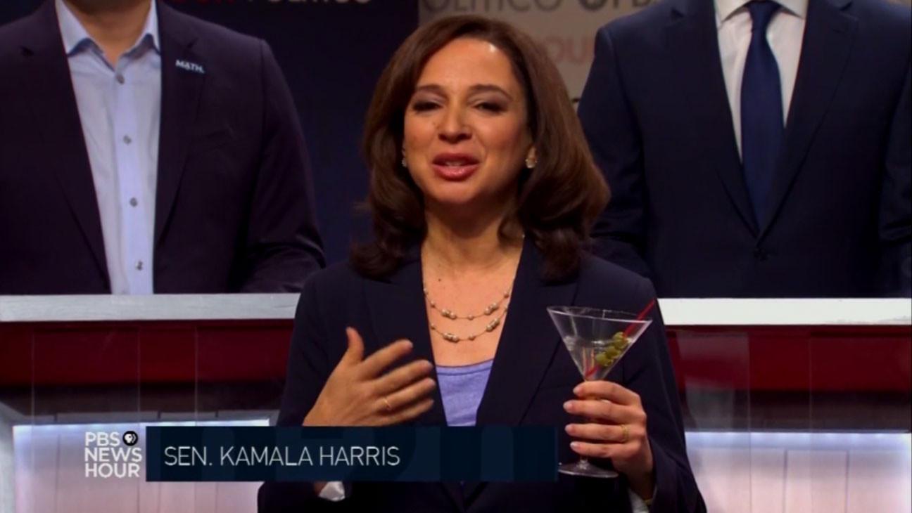 "Maya Rudolph Reacts to Kamala Harris as Biden's Running Mate: ""That's Spicy"""