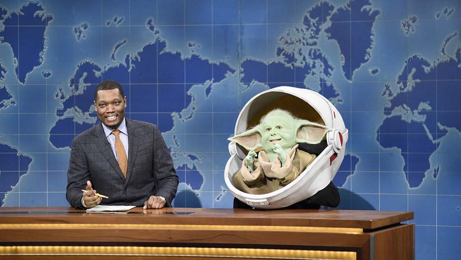 SNL Baby Yoda Weekend Update Segment — Publicity — H 2019