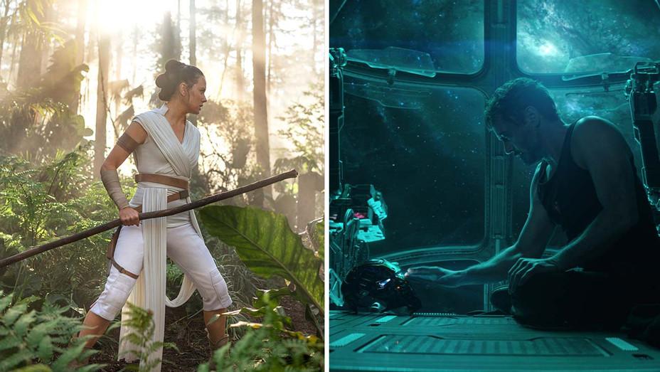 Star Wars - The Rise of Skywalker - Avengers - Endgame - Publicity Stills - Split - H 2019