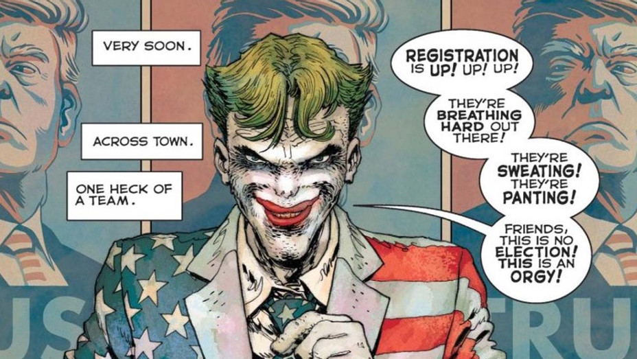 How Frank Miller S New Dark Knight Comic Goes After Donald Trump Hollywood Reporter