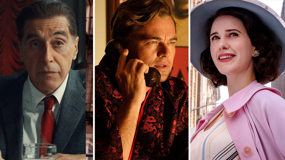 The Irishman, Mrs. Maisel and Once Upon a Time in Hollywood- Split-H 2019