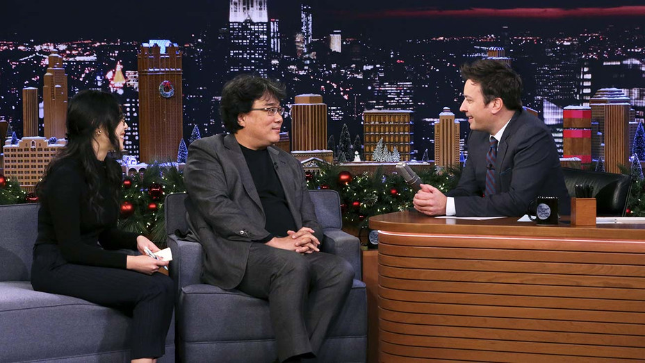 The Tonight Show with Jimmy Fallon -Translator with Director Bong Joon Ho- Publicity Still - H 2019