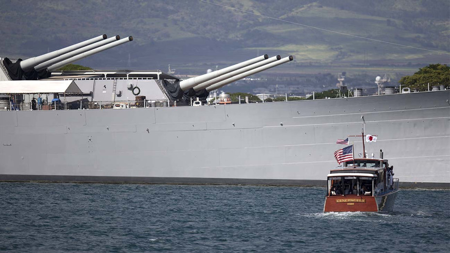 the USS Missouri at Joint Base Pearl Harbor Hickam on December 27, 2016 in Honolulu, Hawaii - Getty - H 2019