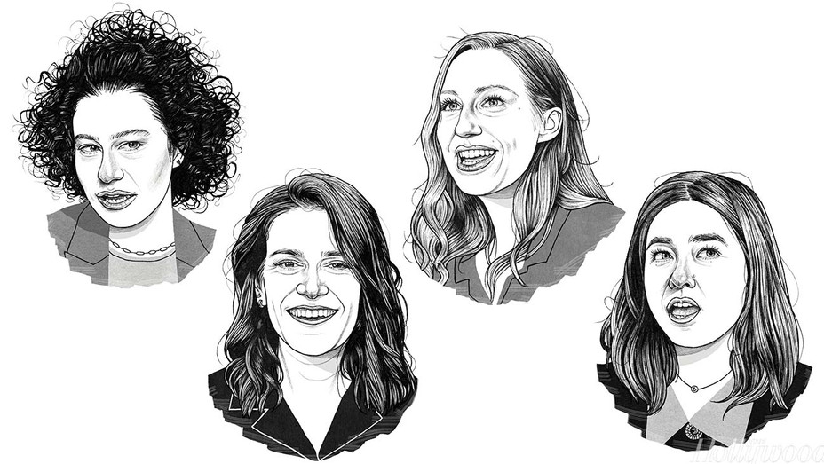 THR-Enter a Group Chat Between 'Broad City' and 'Pen15' Creators  - Illustrations by Adam Cruft -H 2019