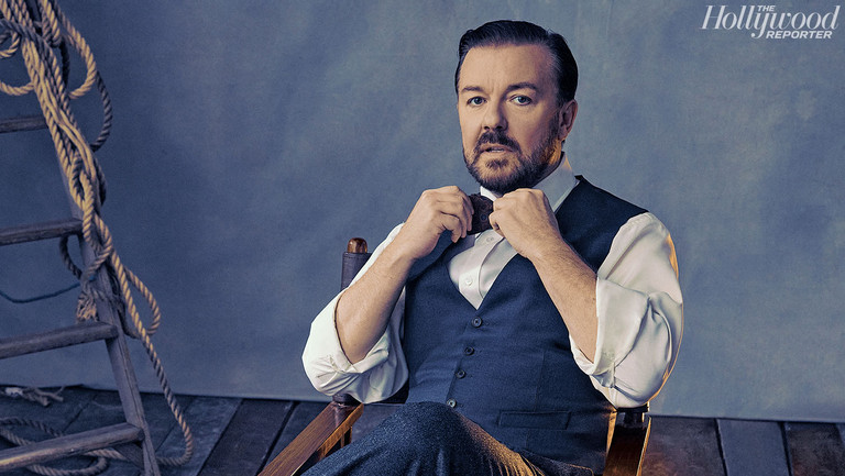 Ricky Gervais, 5-Time Golden Globes Host, Has a Few More Things to Say to Hollywood