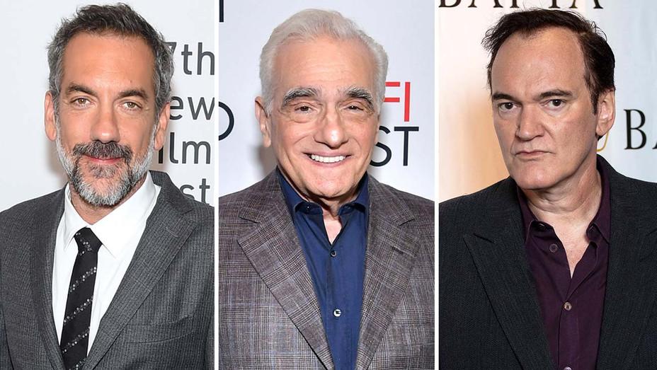 Todd Phillips, Martin Scorsese and Quentin Tarantino - Split-Getty-H 2019