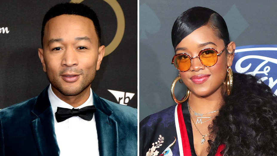 John Legend and H.E.R. - Getty - Split - H 2020