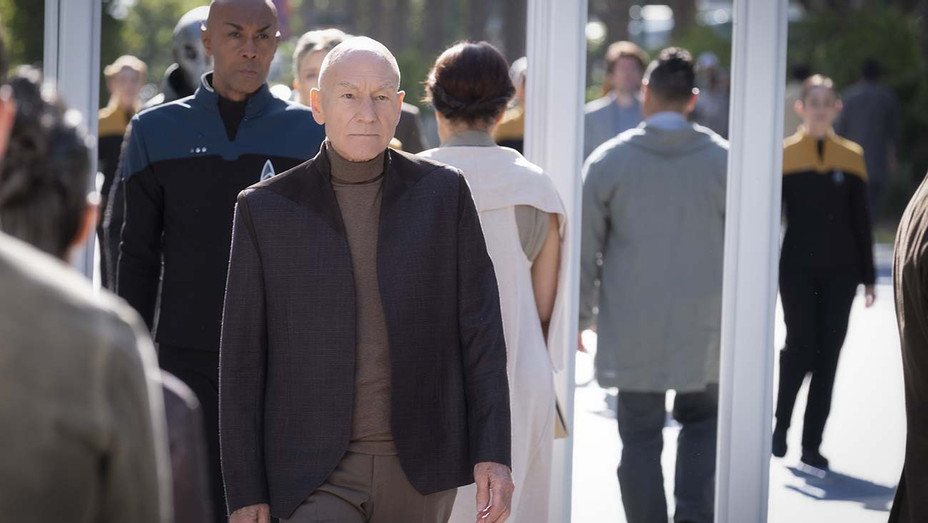 Patrick Stewart as Picard of the the CBS All Access - H 2020