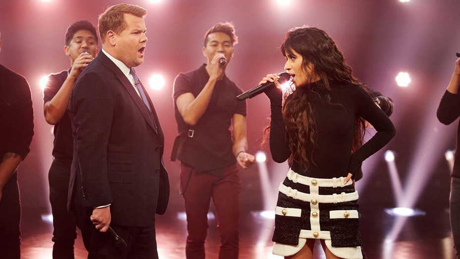The Late Late Show with James Corden - Camila Cabello challenges James Corden  January 16, 2020- H 2020