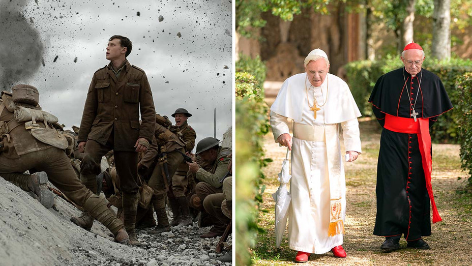 1917- The Two Popes - Publicity Stills - Split - H 2019