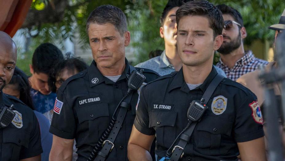 911 Lone Star -Rob Lowe and Ronen Rubenstein - Premiere Jan 19- Publicity-h 2020