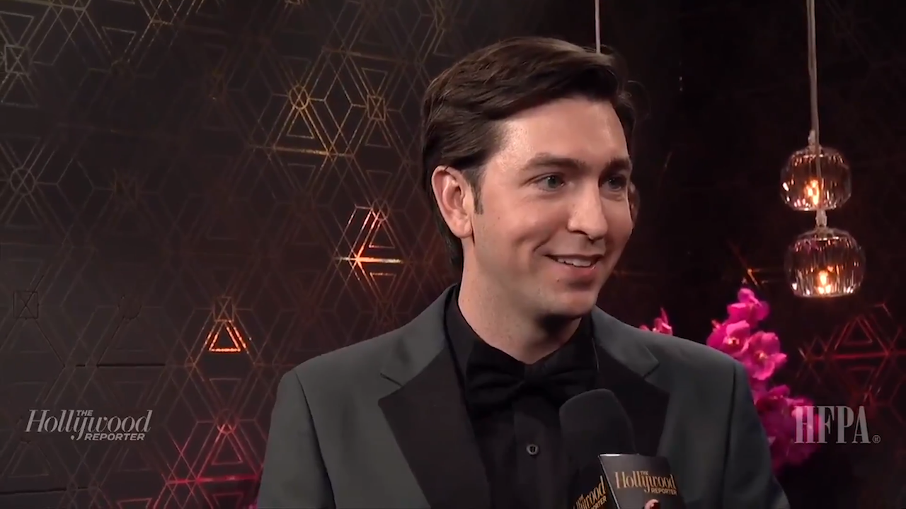 'Succession' Star Nicholas Braun on the Golden Globes 2020 After Show