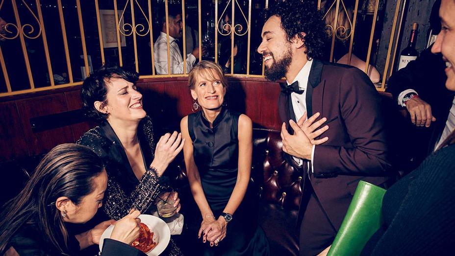 Lulu Wang, Phoebe Waller-Bridge, Jenny Robins and Ramy Youssef