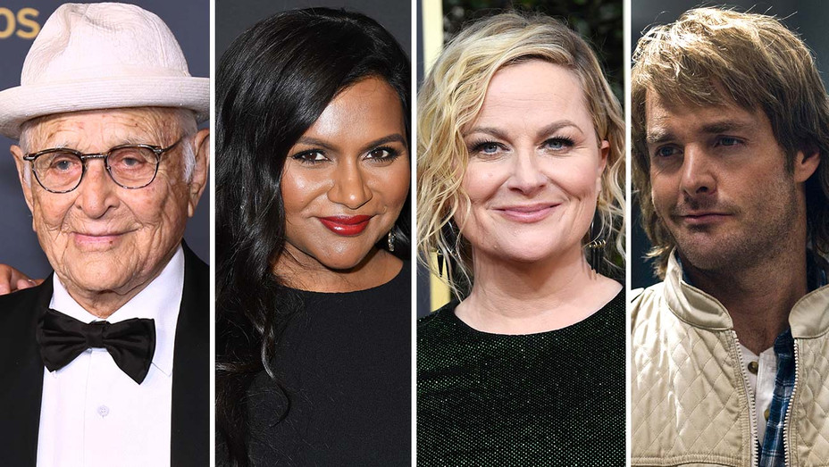 Norman Lear, Mindy Kaling, Amy Poehler and Will Forte as MacGruber - Split-H 2020